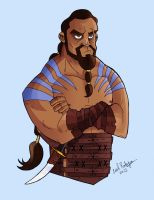 Khal Drogo by cool-slayer