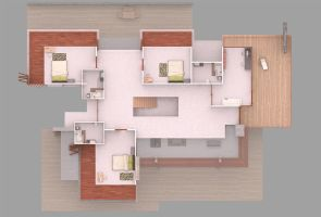 Eco House - 2nd Floor Plan by bm23