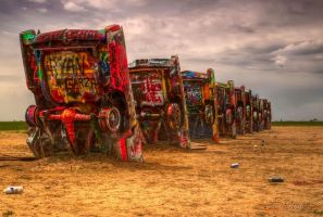 Cadillac Ranch by LeashaHooker