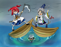 Touhou Naval Fight by Babero