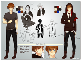 Kai Reference Sheet by Ahniki