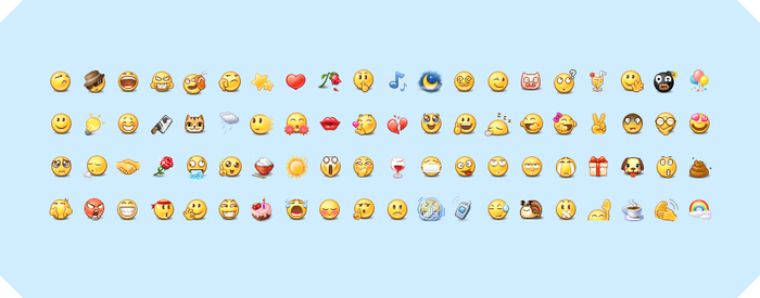 Emoticons by harwenzhang