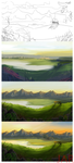 Detailed bg PROGRESS by Tanei
