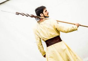 Oberyn Martell Cosplay by Mr--Blueberry