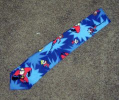 Incredibles Tie by Isilian