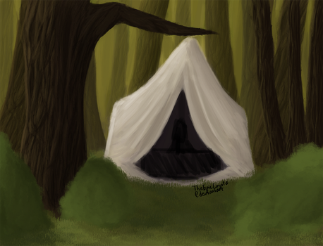 Travel Tent by TheEpicCoyote