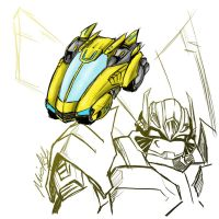 bumblebee redesign 2 by micky86