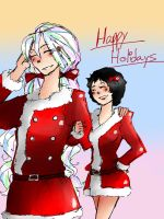 Happy Holidays by Sogequeen2550