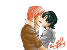 kissyface harry by RedDestiny