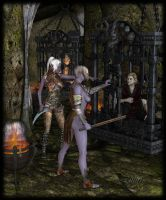 Dungeon by LillithI