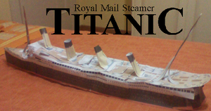 New RMS TITANIC MODEL UPDATE 4 by MarKZ92