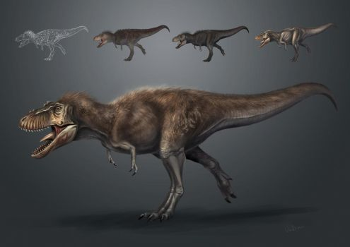feathered T.rex by VuBui91