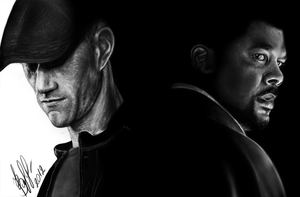 Alex Cross (Matthew Fox and Tyler Perry) by lerielos