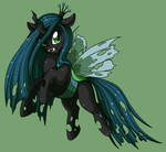 Queen Chrysalis by CatsnCupcakes