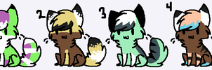 2 point cat adopts CLOSED by AmazingAdoptablez