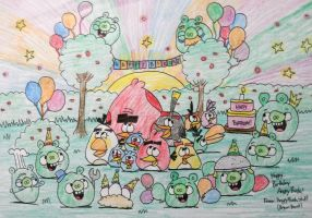 Happy Birthday Angry Birds!!! by AngryBirdsStuff