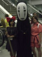 No Face Cosplay by OPlover