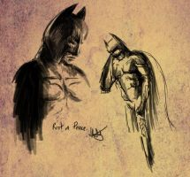 Dark Knight Rises Tribute Sketch by ChangesHappen