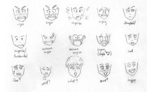 Many Faces by minainerz