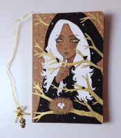 Sorceress Maiden - Metallic Echoes Handmade by The-Nonexistent