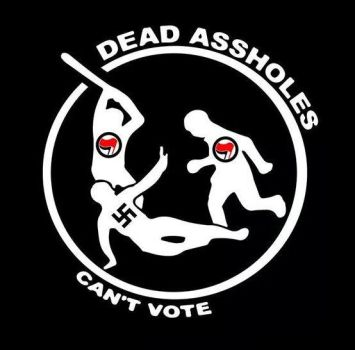 Dead Assholes can't vote! by TheMaoist