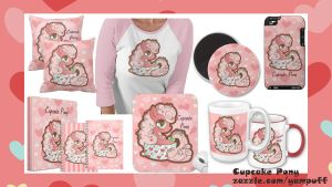 Cupcake Pony Zazzle Items by YamPuff