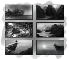 Thumbnail Paintings #1 by Auxuris