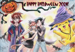 Halloween with AGMP by CaTai