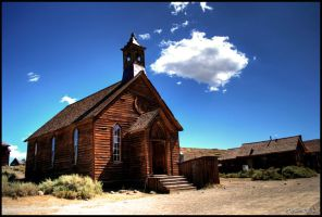 Bodie church HDR by andrearossi