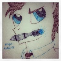 Napkin Art 180 - Doctor Whooves - My Little Pony by PeterParkerPA