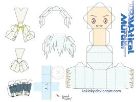 Clear papercraft (DRAMAtical murder) (DMMD) by kokioky