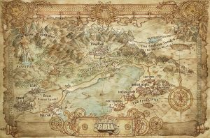 Map - How We Roll by FrancescaBaerald