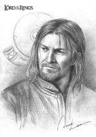 Boromir by ilxwing