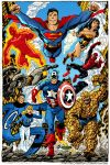 marvel dc by byrne by namorsubmariner