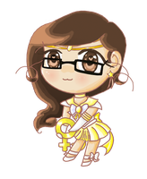 Super Sailor Neith chibi by whiizu