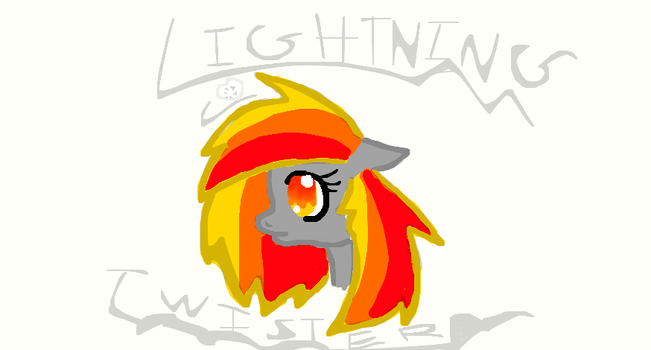 lightning twister ponysona by ponycoconutz123