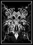 Tribal Dead Poster by Killswitch-Chris