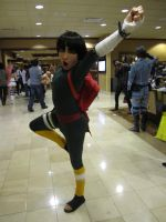 Dynamic Rock Lee by Maru-sha