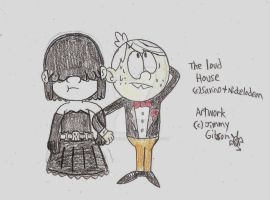 The Loud House: Lucy and Lincoln by CelmationPrince