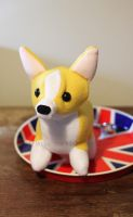 Corgi Plush by MyBeautifulMonsters