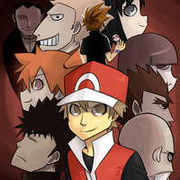 Red Vs. The World by pyrofire2007