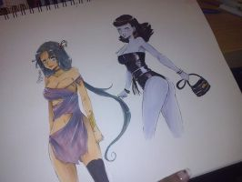 color with copic by ShaniNeko