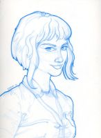 Ramona Flowers - Sketch by TheArtofAdamKnight