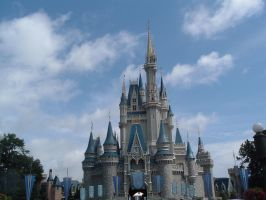 Cinderella Castle by AlliePieGal