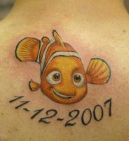 nemo tattoo by twyliteskyz
