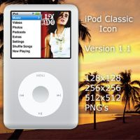 iPod Classic Icon v1.1 by Oliuss