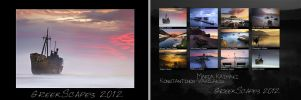 GreekScapes Calendar 2012 by justeline