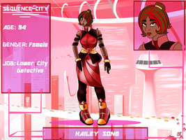 Application for Sequence City- Hailey Song by FrenchSiren
