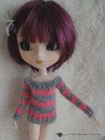 Pullip off-the-shoulder sweater by kivrin82