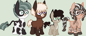 Donkey Adopts CLOSED by BookWormPony